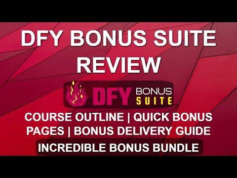 DFY Bonus Suite Review | Easy Bonus Pages 🎁🎁 | WordPress Bonus Delivery thumbnail