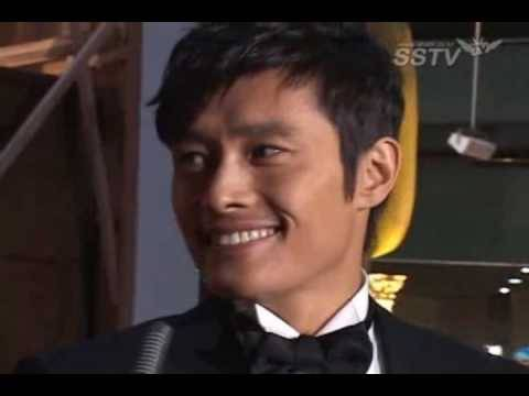 Lee Byung Hun-Kim Tae Hee Interview + other Iris stars @Red Carpet [31/Dec 2009]