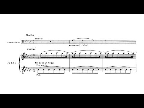 Nadia Boulanger - 3 Pieces For Cello And Piano (audio + Sheet Music)