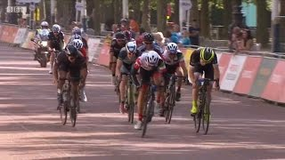 prudential ride london surrey 100 on board footage first finisher 31 july 2016 notarace