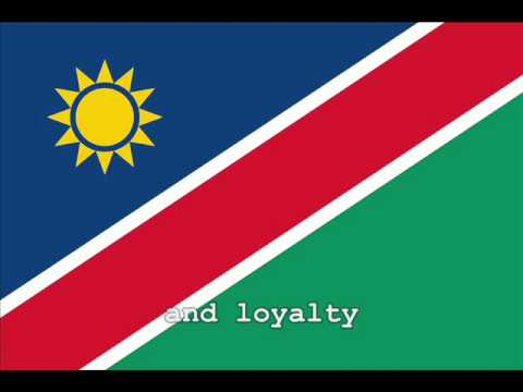 National Anthem of Namibia Instrumental with lyrics