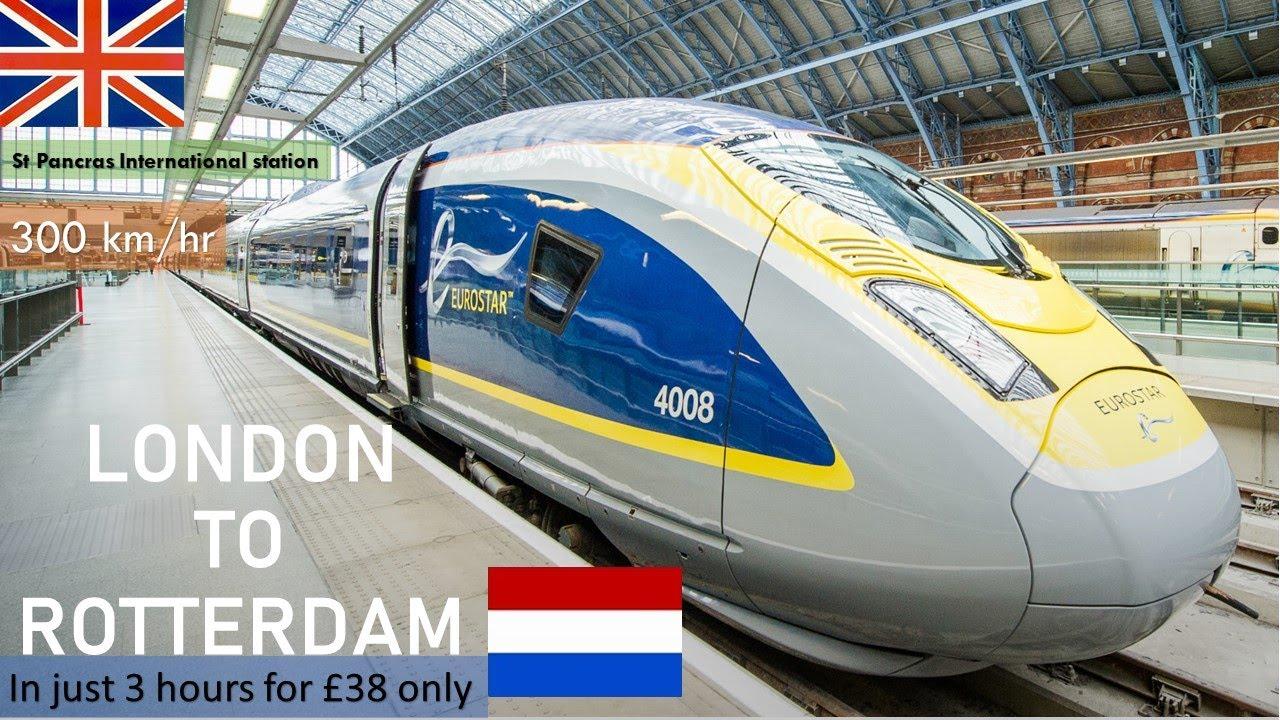 #eurostar #eurostarunderwater #Eurostartrain from #London to #Rotterdam Centraal station #eurotunnel