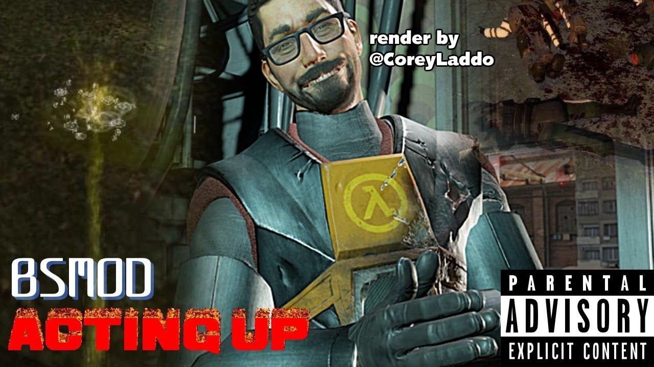 LANDY® streams™ - Half-Life 2 BSMOD: Actin' Up