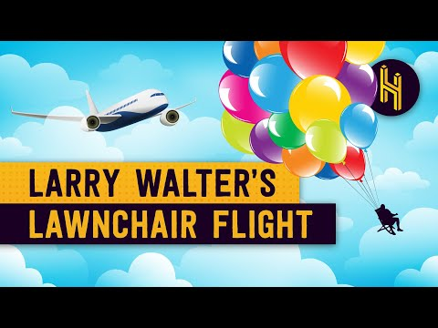 Lawnchair Larry: The Man Who Flew In A Lawnchair