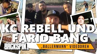 "KC Rebell und Farid Bang in Los Angeles: Niko beim ""Ballermann"" Videodreh"