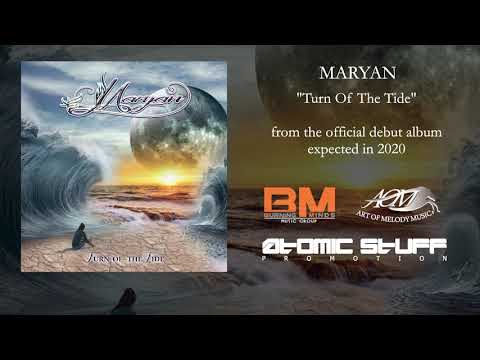 "Maryan - ""Turn Of The Tide"" Official Audio Streaming"