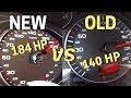 2015 Audi A3 2.0 TDI 184HP Quattro vs 2006 Audi A3 2.0 TDI 140HP | AUTOBAHN & ACCELERATION (60 FPS)