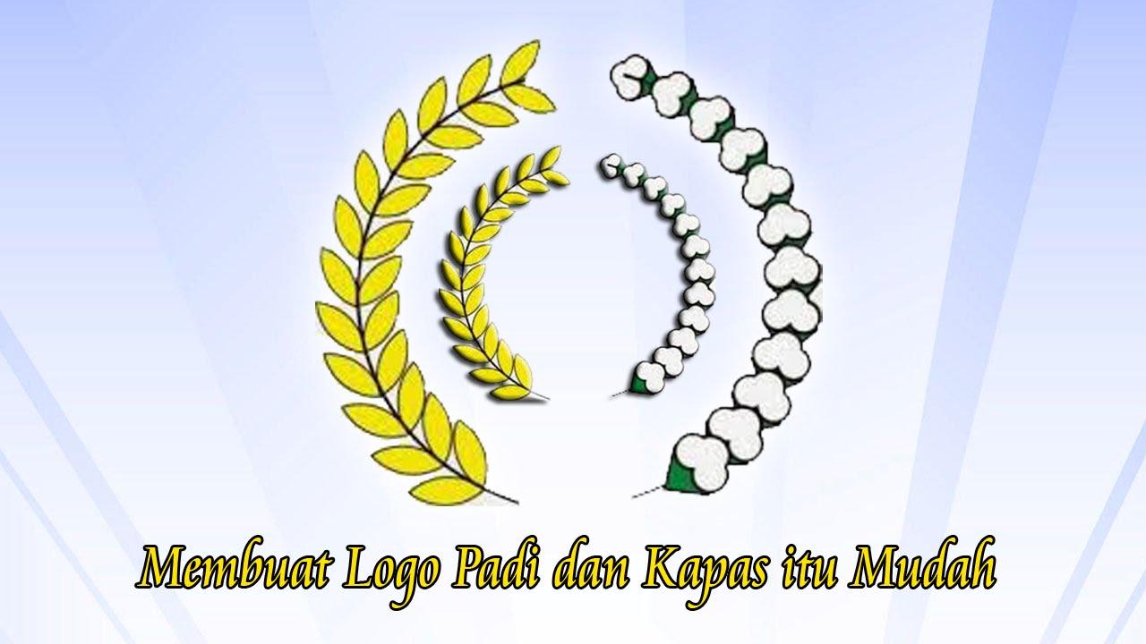 Padi Kapas Video Tutorial Cara Buat Logo Padi Dan Kapas Dengan