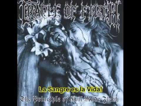 Cradle Of Filth - A Crescendo Of Passion Bleeding (Subtitulado al Español)