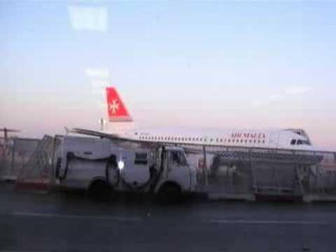 Malta International Airport Departures and Air Malta