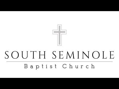 SOUTH SEMINOLE BAPTIST CHURCH - DECEMBER 3, 2017