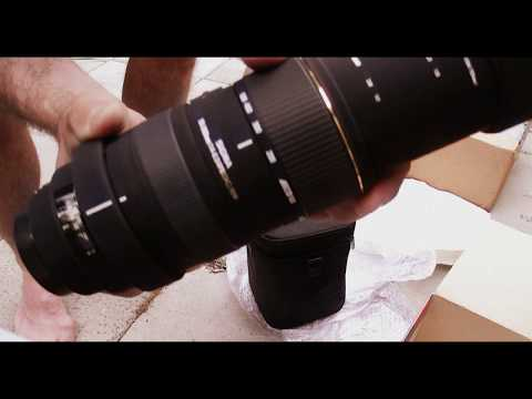 Unpacking my sigma sd1 digital slr camera with 50-500 sigma lens