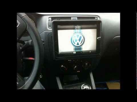 DIY How To Custom Mount I Pad 2 In Car Dash