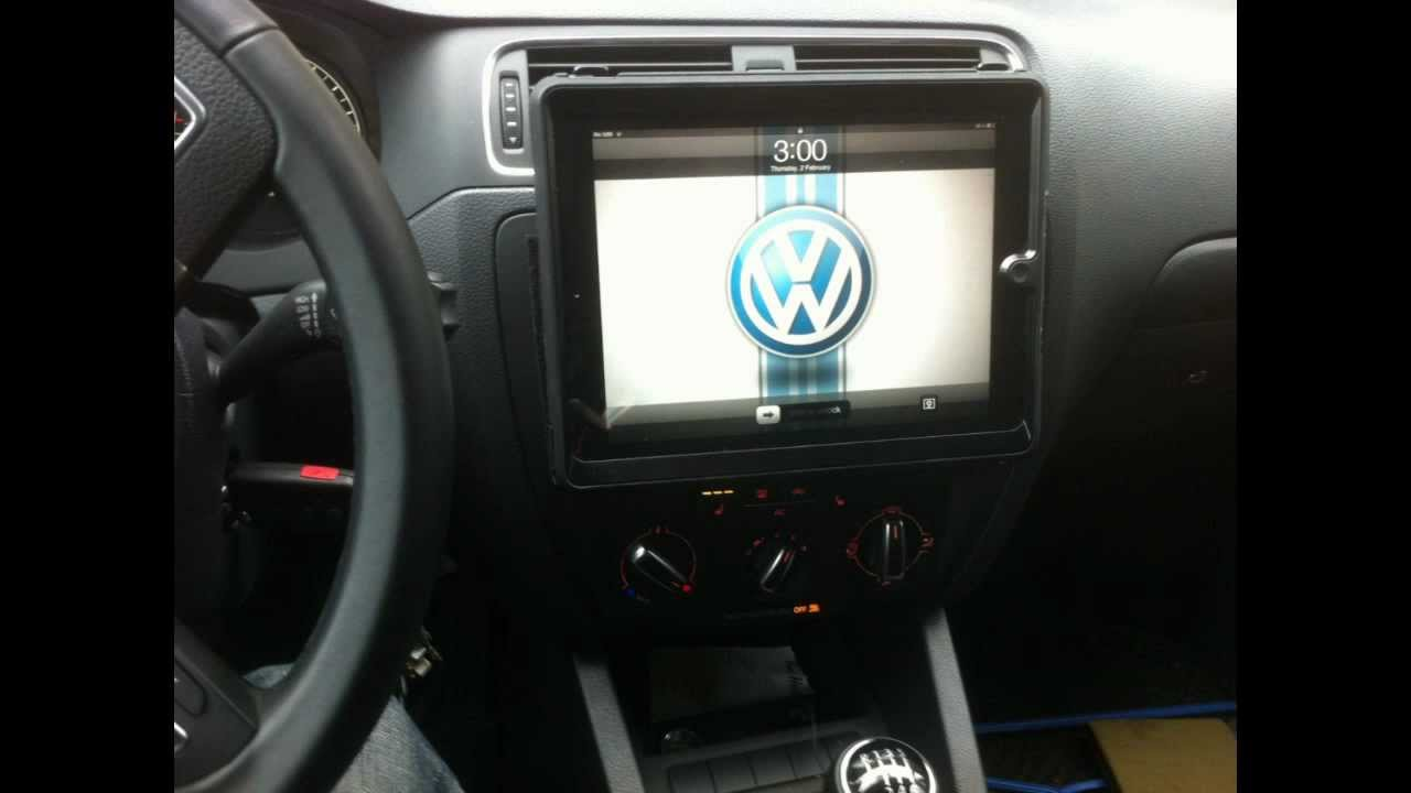 diy how to custom mount i pad 2 in car dash   youtube