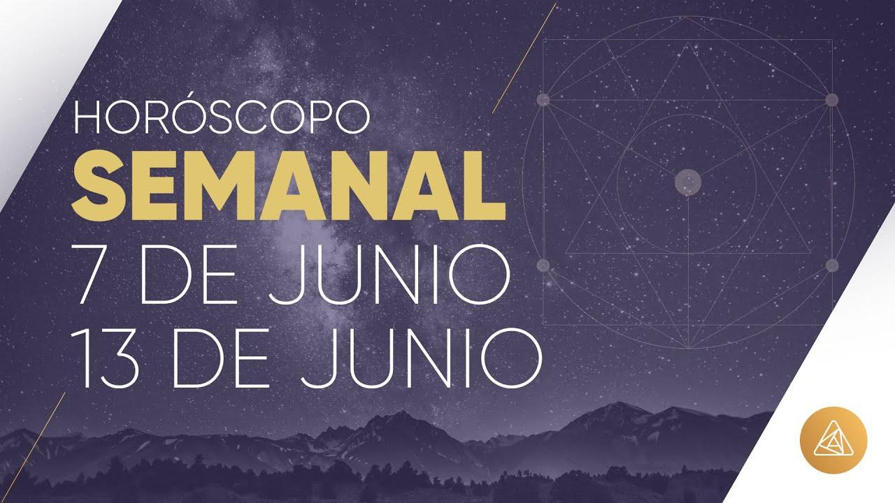 HOROSCOPO SEMANAL | 7 AL 13 DE JUNIO | ALFONSO LEÓN ARQUITECTO DE SUEÑOS