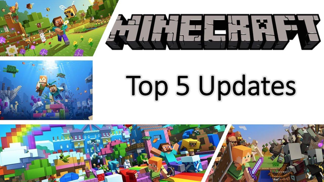 Top 10 Minecraft Updates