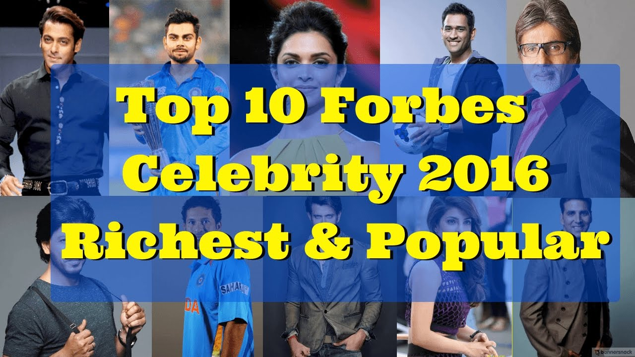 2018 Forbes India Celebrity 100: Salman Khan TOPS the list ...