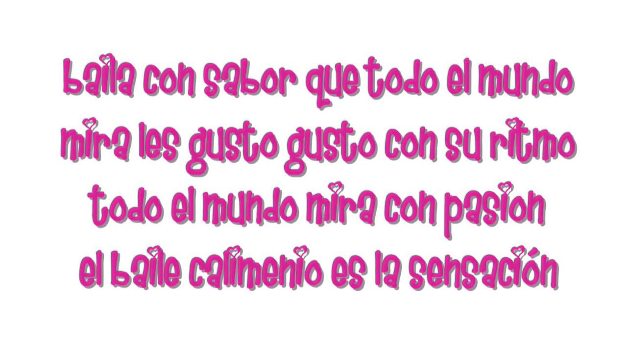Calimenio Lyrics - YouTube