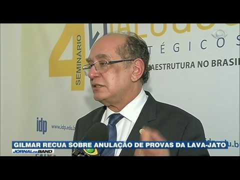 Gilmar Mendes cobra investigação sobre delações vazadas