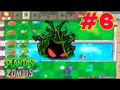 Plantas contra Zombis - #6 - FIESTA DE ALBERCA