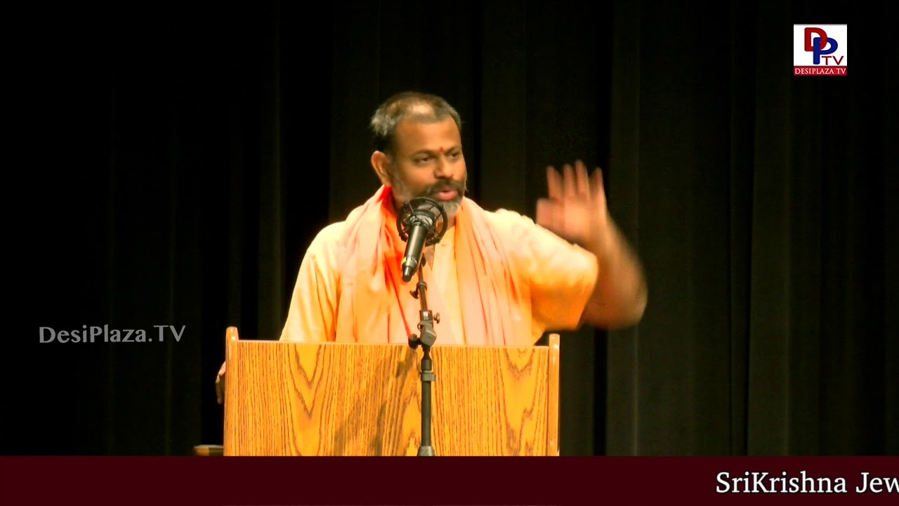 """Media is playing a successful role in damaging the Hinduism Values"" - Swami Paripoornananda 