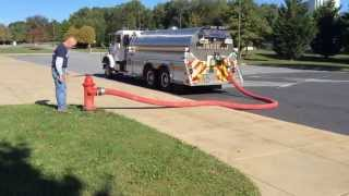 Tanker 14 - One-Person Fill Operation at a Fire Hydrant