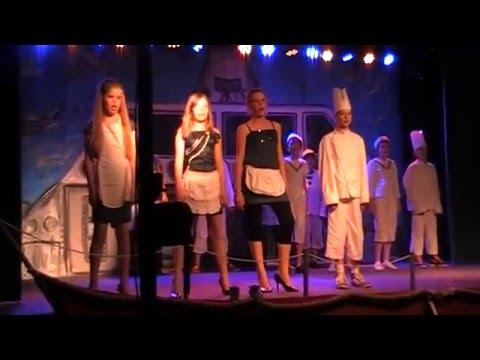 Albertine Agnesschool Oranjewoud juni 2011;  Big Boat Schoolmusical Groep 7/8
