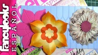 Probando tableros de hacer rosetas-Papercraft inspirations review