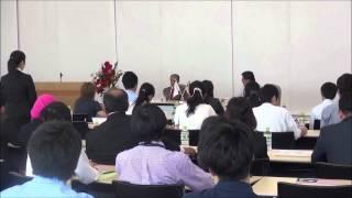 8月4日(火)マレーシア元首相マハティール・ビン・モハマド閣下と学生の対話集会~対話①~