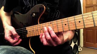 Can't Stop Loving You (VH)   Solo PT 1   Lesson