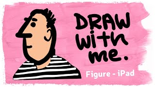 Draw with me: Live Stream April 18