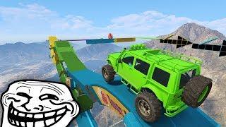 FINAL SUPER TROLL!! NI ME DOY CUENTA!! - CARRERA GTA V ONLINE - GTA 5 ONLINE