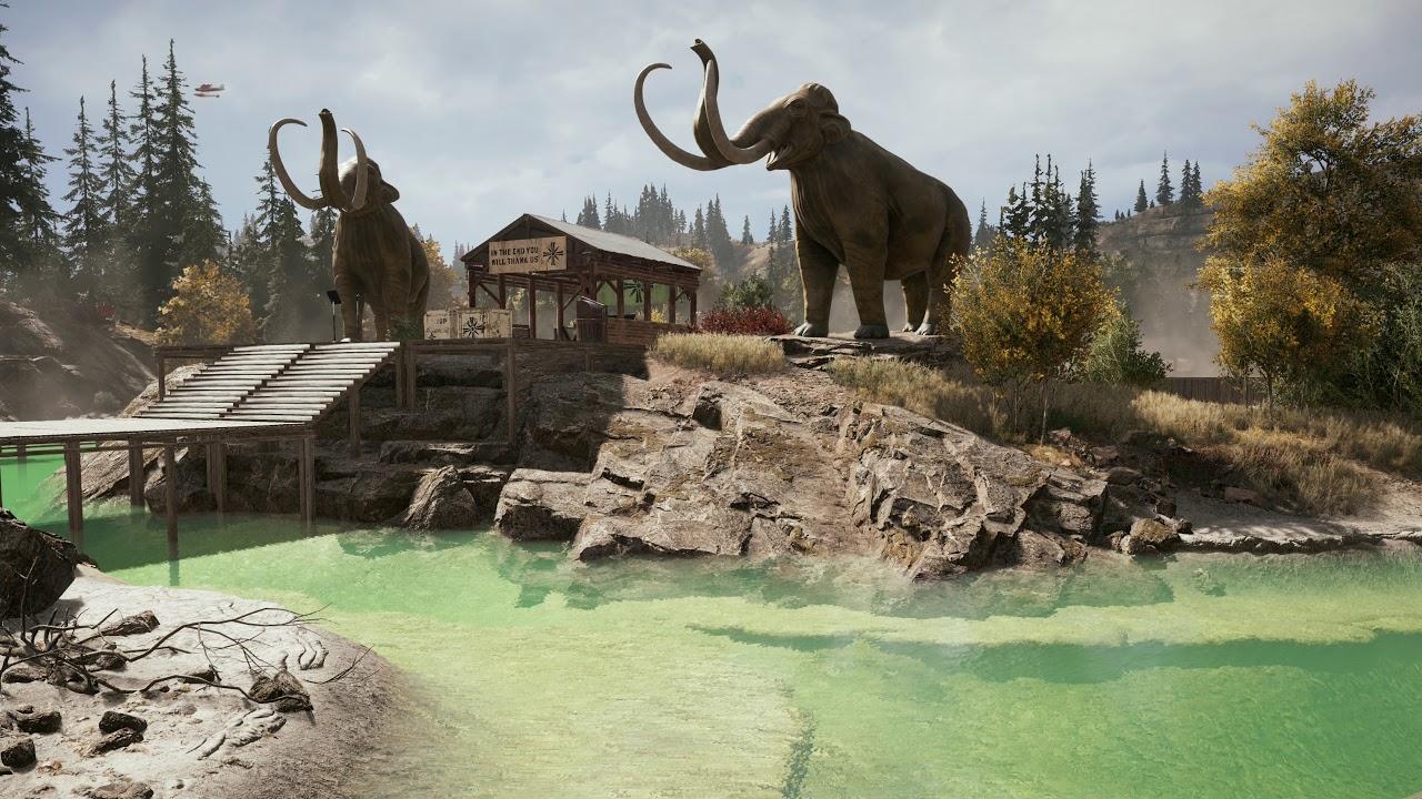 Far Cry 5 4k Landscapes 1 Pc Ultra Youtube