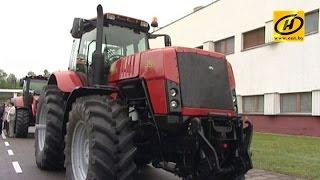 Трактор КИЙ-14102 (МТЗ) - YouTube