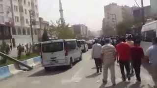Cizre'ye gelen Selahattin Demirtaş coşkuyla karşılandı