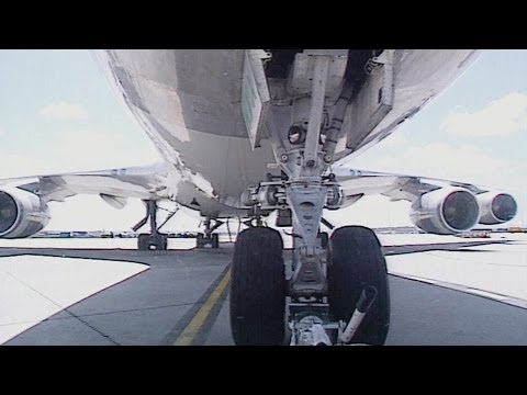 Cathay Pacific Boeing 747 Freight Airliner Melbourne Pushback