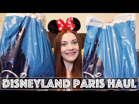 HUGE Disneyland Paris Haul | November 2017