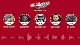 SPEAK FOR YOURSELF Audio Podcast (11.9.18) with Marcellus Wiley, Jason Whitlock | SPEAK FOR YOURSELF