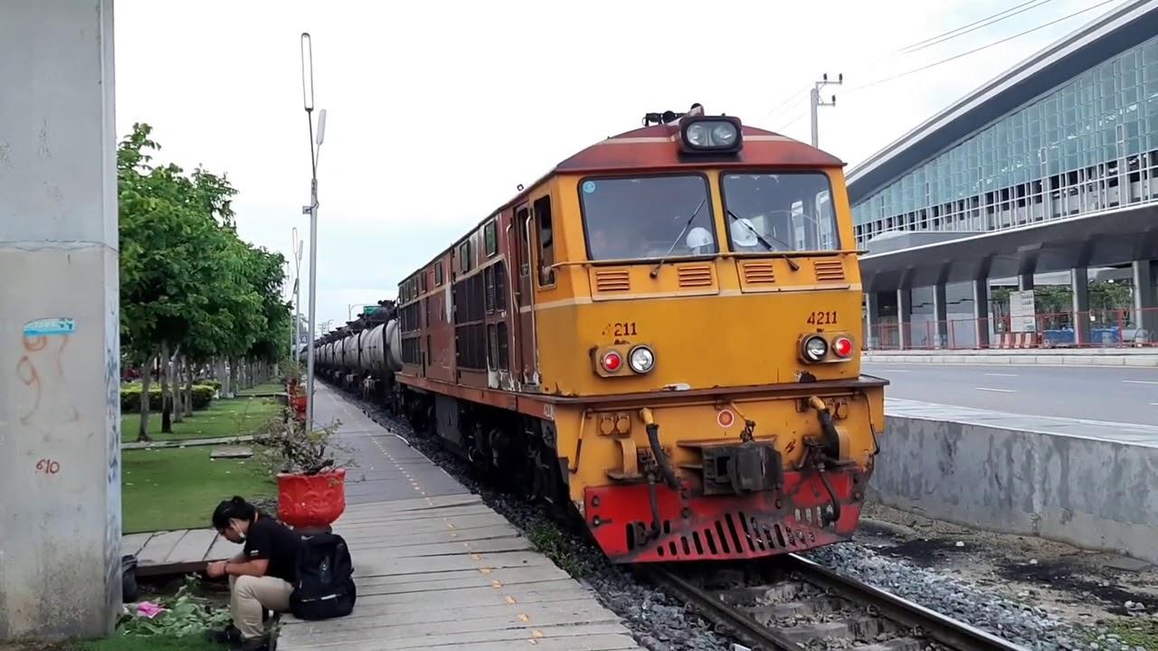 พามาชมขบวนด่วนดำ 632 เปลี่ยนรถจักร กับจ่าบอลคนรักรถไฟ