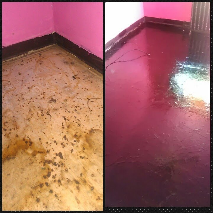 PAPER BAG FLOORING WITH STAIN  YouTube