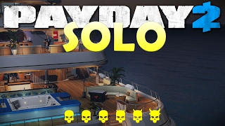 Yacht Heist Solo Stealth One Down – John Wick Heist DLC (Payday 2)