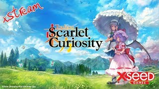 Touhou: Scarlet Curiosity | PC Gameplay