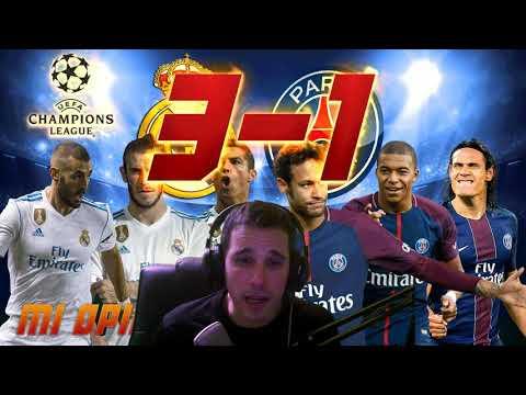 REAL MADRID 3-1 PSG | MI OPINIÓN + VALORACIÓN JUGADORES