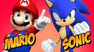 How to Draw Super Mario Sonic the Hedgehog | Fusion Challenge