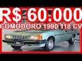 PASTORE R$ 60.000 Chevrolet Opala Comodoro SL/E 1990 Verde Araripe Met�lico MT4 4.1 S 118 cv #Opala