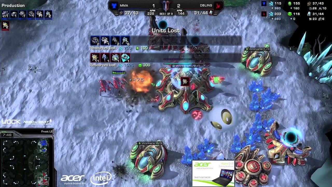 MMA vs. Bling (ATC) - Acer vs. coLDignitas - Game 4 - StarCraft 2