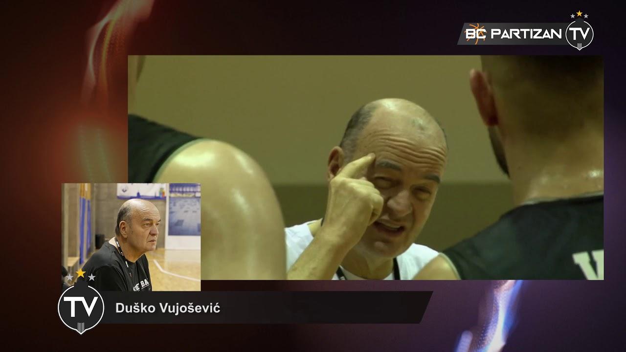 BC Partizan TV: Duško Vujošević - ,,Partizan je doneo pravu odluku da nastupa u Evrokupu!''