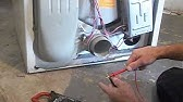 Replacing thermal fuse on kenmore dryer - YouTube on