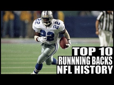 Top 10 Running Backs in NFL History