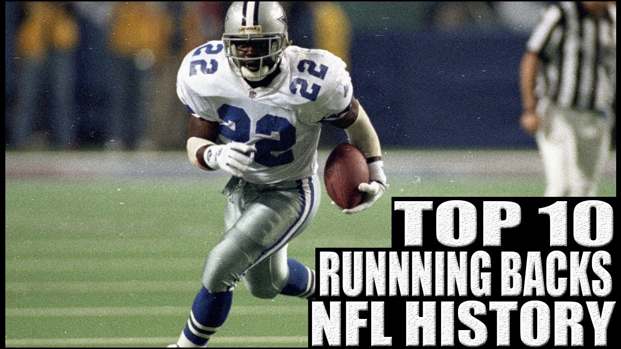 258b5d63bcf Top 10 Running Backs in NFL History. NFL Top Ten